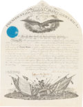 Autographs:U.S. Presidents, Abraham Lincoln: Signed Military Appointment. ...