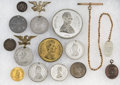 Political:Memorial (1800-present), Abraham Lincoln: Collection of Mourning Tokens and Medals. ...