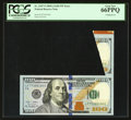 Error Notes:Miscellaneous Errors, Fr. 2187-F $100 2009A Federal Reserve Note. PCGS Gem New 66PPQ.. ...