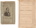 Political:Small Paper (pre-1896), Abraham Lincoln: Campaign Biographies. ... (Total: 3 Items)