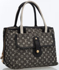 Luxury Accessories:Bags, Louis Vuitton Black Mini Lin Monogram Canvas Mary Kate Tote Bag....
