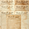 Miscellaneous:Newspaper, [Texas Revolution]. Newspaper: Seven Copies of Star in the Eastand New-Hampshire Universalist.... (Total: 7 Items)