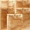 Miscellaneous:Newspaper, Newspaper: Five Copies of Star in the East and New-HampshireUniversalist.... (Total: 5 Items)