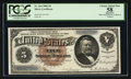 Large Size:Silver Certificates, Fr. 264 $5 1886 Silver Certificate PCGS Apparent Choice About New 58.. ...
