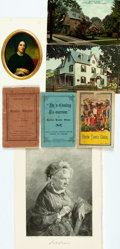 Miscellaneous:Ephemera, [Harriet Beecher Stowe]. [Uncle Tom's Cabin]. Group of Seven ItemsRelating to Harriet Beecher Stowe and/or Uncle Tom's ...