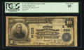 National Bank Notes:Pennsylvania, Berwick, PA - $10 1902 Plain Back Fr. 624 The First NB Ch. #(E)568. ...