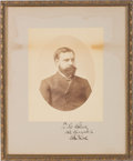 Photography:Studio Portraits, Robert Todd Lincoln: Signed Presentation Photo....