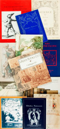 Books:Books about Books, [Books about Books]. Large Lot of Rare Book Action Catalogs. Various publishers and dates. ...