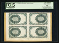 Fractional Currency:Fifth Issue, Milton 5E10R.2a 10¢ Fifth Issue Back Block of Four PCGS ApparentChoice About New 58.. ...