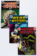 Bronze Age (1970-1979):Horror, Weird Mystery Tales #4-13 Group (DC, 1973-74) Condition: AverageVF+.... (Total: 10 Comic Books)