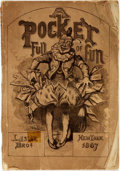 Books:Periodicals, [Cartoon Annual]. A Pocket Full of Fun. New York: Leslie& Brother, 1867. ...