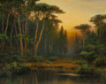 Texas:Early Texas Art - Impressionists, A.D. GREER (American, 1904-1998). Texas Swamp. Oil oncanvas. 24 x 30 inches (61.0 x 76.2 cm). Signed lower right: ©A...