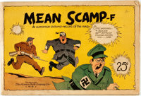 [World War II] [Cartoons]. Harry Hall. Mean Scamp-f: A Humorous Pictorial Record of the War. To
