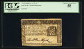 Colonial Notes:New York, New York September 2, 1775 $2 PCGS Choice About New 58.. ...