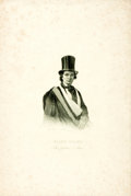 Books:Prints & Leaves, [Slavery]. Engraving Depicting Ellen Craft, a Fugitive Slave. Ca. 1850s. . ...