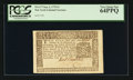 Colonial Notes:New York, New York September 2, 1775 $1 PCGS Very Choice New 64PPQ.. ...