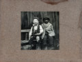 Books:Prints & Leaves, [African-Americana]. Mounted Photographic Print Entitled,Sunshine and His Shadow. ...