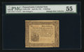 Colonial Notes:Pennsylvania, Pennsylvania April 20, 1781 5s PMG About Uncirculated 55.. ...