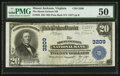 National Bank Notes:Virginia, Mount Jackson, VA - $20 1902 Plain Back Fr. 650 The Mount JacksonNB Ch. # 3209. ...