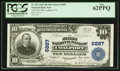 National Bank Notes:Pennsylvania, Coalport, PA - $10 1902 Plain Back Fr. 624 The First NB Ch. # 6887....