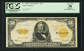 Large Size:Gold Certificates, Fr. 1200* $50 1922 Gold Certificate PCGS Apparent Very Fine 30.....