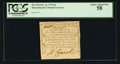 Colonial Notes:Massachusetts, Massachusetts October 16, 1778 4d PCGS Choice About New 58.. ...