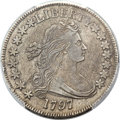 Early Half Dollars, 1797 50C O-101a, R.5 -- Cleaning -- PCGS Genuine. VF Details.Amato-422....