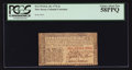 Colonial Notes:New Jersey, New Jersey February 20, 1776 6s PCGS Choice About New 58PPQ.. ...