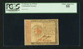 Colonial Notes:Continental Congress Issues, Continental Currency January 14, 1779 $2 PCGS Choice About New 55.. ...