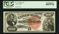 Large Size:Legal Tender Notes, Fr. 177 $100 1880 Legal Tender PCGS Extremely Fine 40PPQ.. ...
