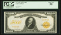 Large Size:Gold Certificates, Fr. 1219e $1,000 1907 Gold Certificate PCGS About New 50.. ...