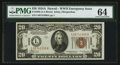 Small Size:World War II Emergency Notes, Fr. 2305 $20 1934A Hawaii Federal Reserve Note. PMG Choice Uncirculated 64.. ...