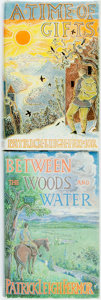 Books:Travels & Voyages, Patrick Leigh Fermor. A Time of Gifts [and:] Between the Woods and the Water. John Murray, [1977 and 1986]. ... (Total: 2 Items)