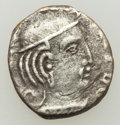 Ancients:Oriental, Ancients: INDIA. Indo-Scythians. Rudrasena III (ca. AD 348-378). AR drachm....