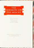 Books:Religion & Theology, Rowan A. Greer, introduction and commentaries. The Sermon on the Mount. Oxford: Limited Editions Club, 1977. ...