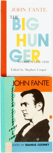 Books:Literature 1900-up, [John Fante]. Pair of SIGNED/LIMITED Edition Volumes of Collected Works. ... (Total: 2 Items)