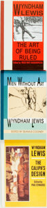 Books:Literature 1900-up, Wyndham Lewis. Group of Three LIMITED Edition Books. ... (Total: 3 Items)