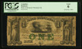 Canadian Currency: , Montreal, PQ- Bank of Montreal $1 Jan. 1, 1849 Ch. # 505-20-06-02....