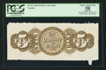 Canadian Currency: , PC-4ct Canada Province of Canada 1866 $5 Back Color Trial. ...