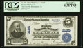 National Bank Notes:Alabama, Birmingham, AL - $5 1902 Plain Back Fr. 598 The First NB Ch. # 3185. ...