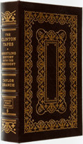 Books:Fine Bindings & Library Sets, Taylor Branch. SIGNED/LIMITED. The Clinton Tapes. Easton Press, [2009]. ...