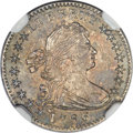 Early Half Dimes, 1796 H10C LIKERTY, V-1, LM-1, R.3, MS61 NGC....