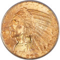 Indian Half Eagles, 1929 $5 MS64 PCGS. CAC....
