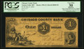 Obsoletes By State:Minnesota, Taylors Falls, MN- The Chisago County Bank $1 May 9, 1859 G2 HewittB840-D1. ...
