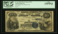 Ardmore, OK - $10 1882 Date Back Fr. 546 The Ardmore NB Ch. # (W)5922