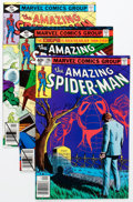 Modern Age (1980-Present):Superhero, The Amazing Spider-Man Group (Marvel, 1979-88) Condition: AverageNM-.... (Total: 78 Comic Books)