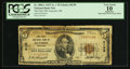 National Bank Notes:Oklahoma, Guymon, OK - $5 1929 Ty. 1 The First NB Ch. # 8138. ...