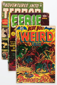 Golden Age Pre-Code Horror Short Box Group (Various Publishers, 1950s) Condition: Average FR