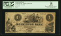 Obsoletes By State:Rhode Island, Westerly, RI- Hopkinton Bank $1 Jan. 10, 1856 G14a. ...