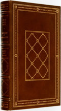 Books:Fine Bindings & Library Sets, Joyce Carol Oates. SIGNED/LIMITED. Mysteries of Winterthurn. Franklin Center: Franklin Library, 1984....